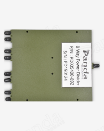 0.5 to 40GHz 8-way Power Divider