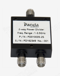1 to 3.5GHz 2-way Power Divider