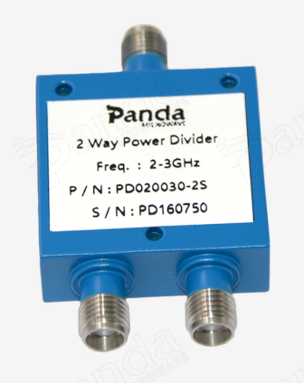 2 to 3GHz 2-way Power Divider