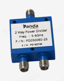 5 to 6GHz 2-way Power Divider