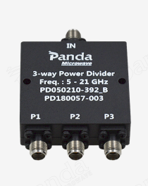 5 to 21GHz 3-way Power Divider