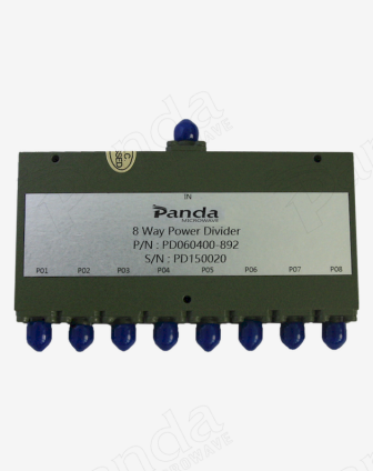 6 to 40GHz 8-way Power Divider