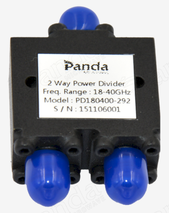 18 to 40GHz 2-way Power Divider