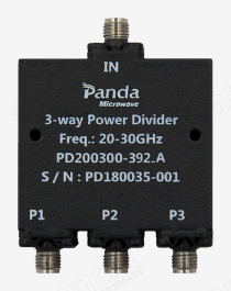 20 to 30GHz 3-way Power Divider