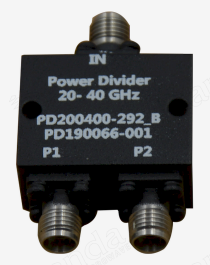 20 to 40GHz 2-way Power Divider
