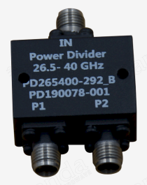 26.5 to 40GHz 2-way Power Divider