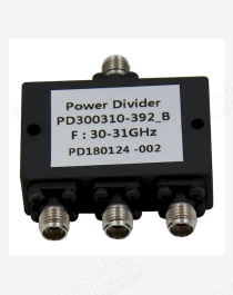 30 to 31GHz 3-way Power Divider