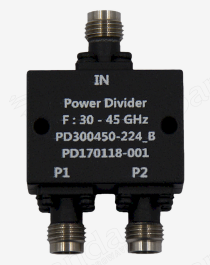 30 to 45GHz 2-way Power Divider