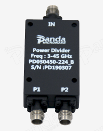 3 to 45GHz 2-way Power Divider