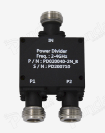 2 to 4GHz 2-way Power Divider