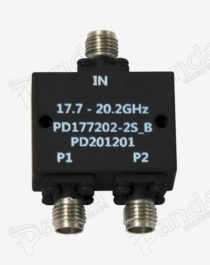 17.7 to 20.2GHz 2-way Power Divider