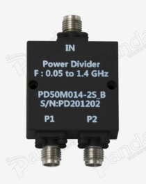 0.05 to 1.4GHz 2-way Power Divider